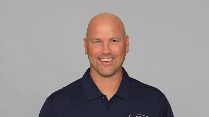 FILE - This is a 2012 file photo showing Gus Bradley of the Seattle Seahawks NFL football team. The Jacksonville Jaguars have hired Seattle defensive coordinator Gus Bradley as head coach. ESPN first reported the hire Thursday, Jan. 17, 2013. (AP Photo/File)