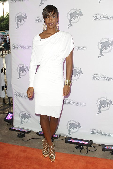 Kelly Rowland Miami Dolphons Gm