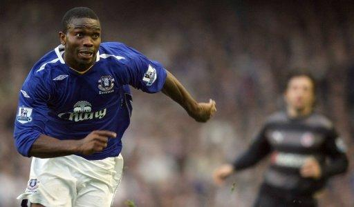 The Nigerian international made than 250 appearances for Everton