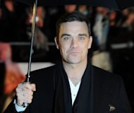 British singer Robbie Williams