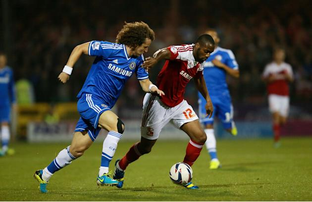 Soccer - Capital One Cup - Third Round - Swindon v Chelsea - County Ground