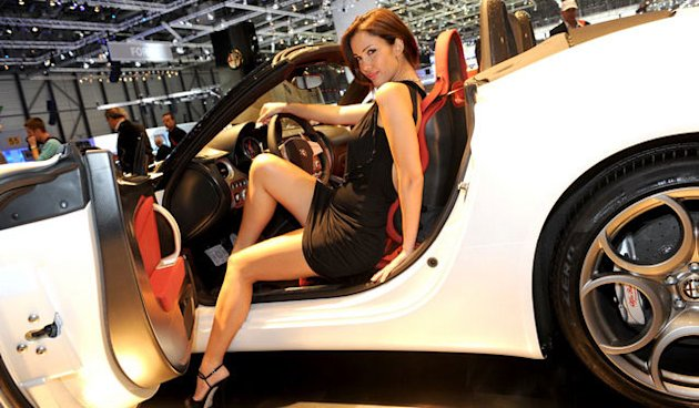 Ladies of the Geneva Motor Show