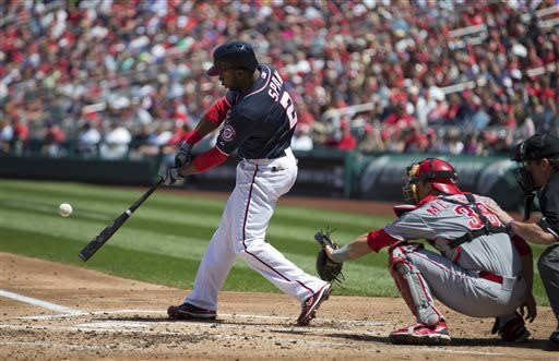 Harper homers, Nationals win third 3rd straight