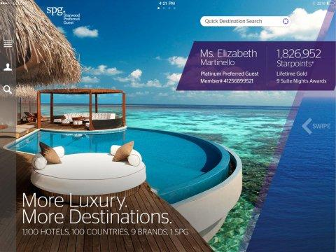 Starwood Debuts the Ultimate New Travel App on iOS 7