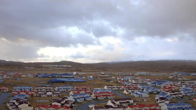This 2010 photo released by the State of Alaska Division of Community & Regional Affairs shows neighborhood housing in Adak, Alaska. Officials say a magnitude 7.0 earthquake has rocked Alaska's Aleutian Islands, Friday, Aug. 30, 2013, with a jet-like rumble that shook homes and sent residents scrambling for cover. There are no immediate reports of damage or injuries from the major temblor at 8:25 a.m. Friday, local time. It was followed by multiple aftershocks, including one measuring magnitude 4.5. (AP Photo/State of Alaska Division of Community & Regional Affairs)