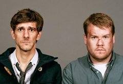 Mathew Baynton, James Corden | Photo Credits: Hulu