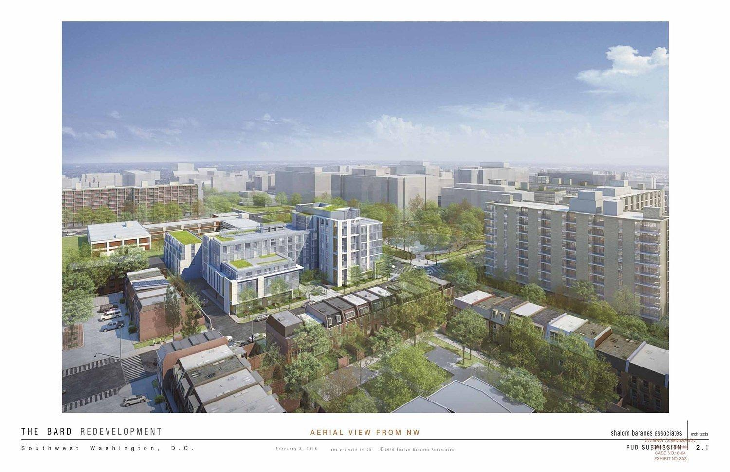 Despite SW Resident Complaints, Shakespeare Theatre Files Plans for Mixed-Use Project