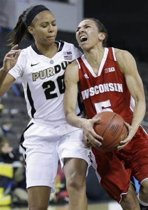 Purdue women top Wisconsin 74-62