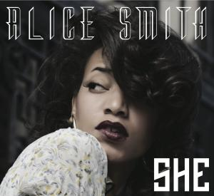 "This cd cover image released by Rainwater Recordings shows ""She"" by Alice Smith. (AP Photo/Rainwater Recordings)"