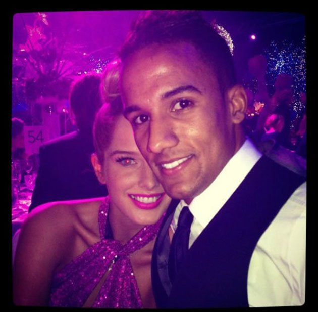 Helen Flanagan and her boyfriend Scott Sinclair