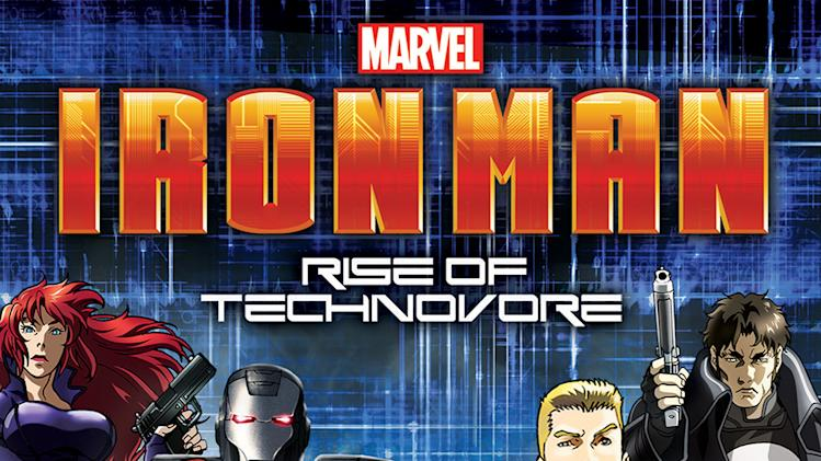 Iron Man: Rise of the Technovore DVD