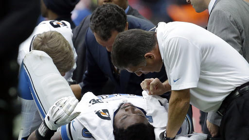 Lions won't offer timetable on injured DT Fairley