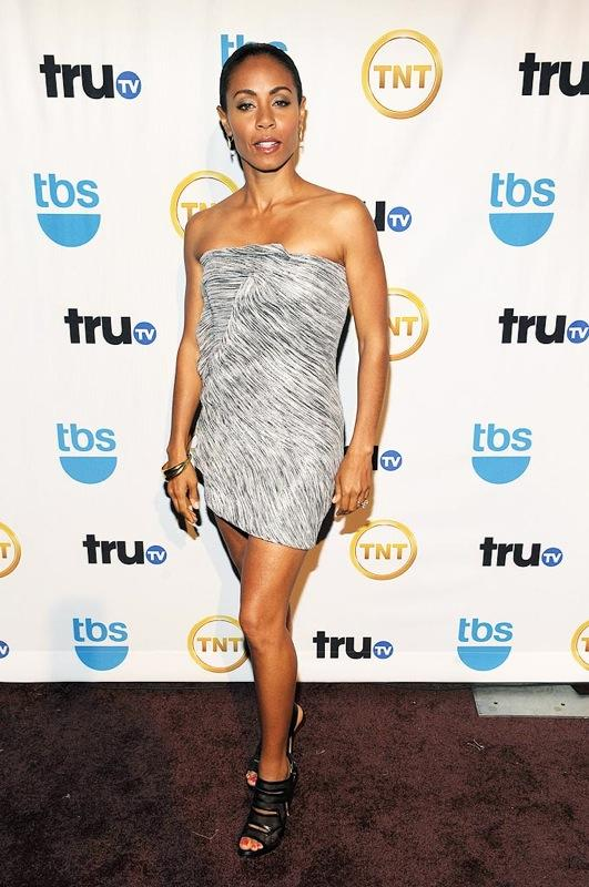 Actress Jada Pinkett Smith attends the 2009 Turner Upfront at Hammerstein Ballroom on May 20, 2009 in New York City. Jada Smith