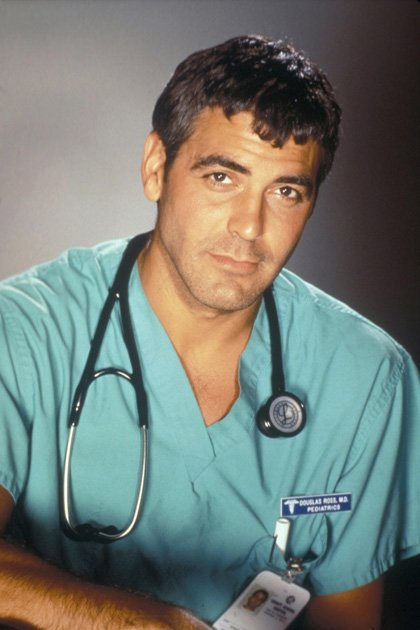 George Clooney als Dr. Doug Ross (Emergency Room)