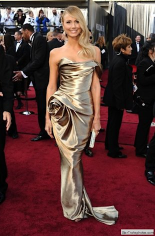 stacy keibler oscars 2012