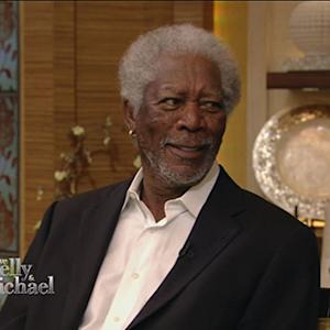 Morgan Freeman's Buzzy New Hobby