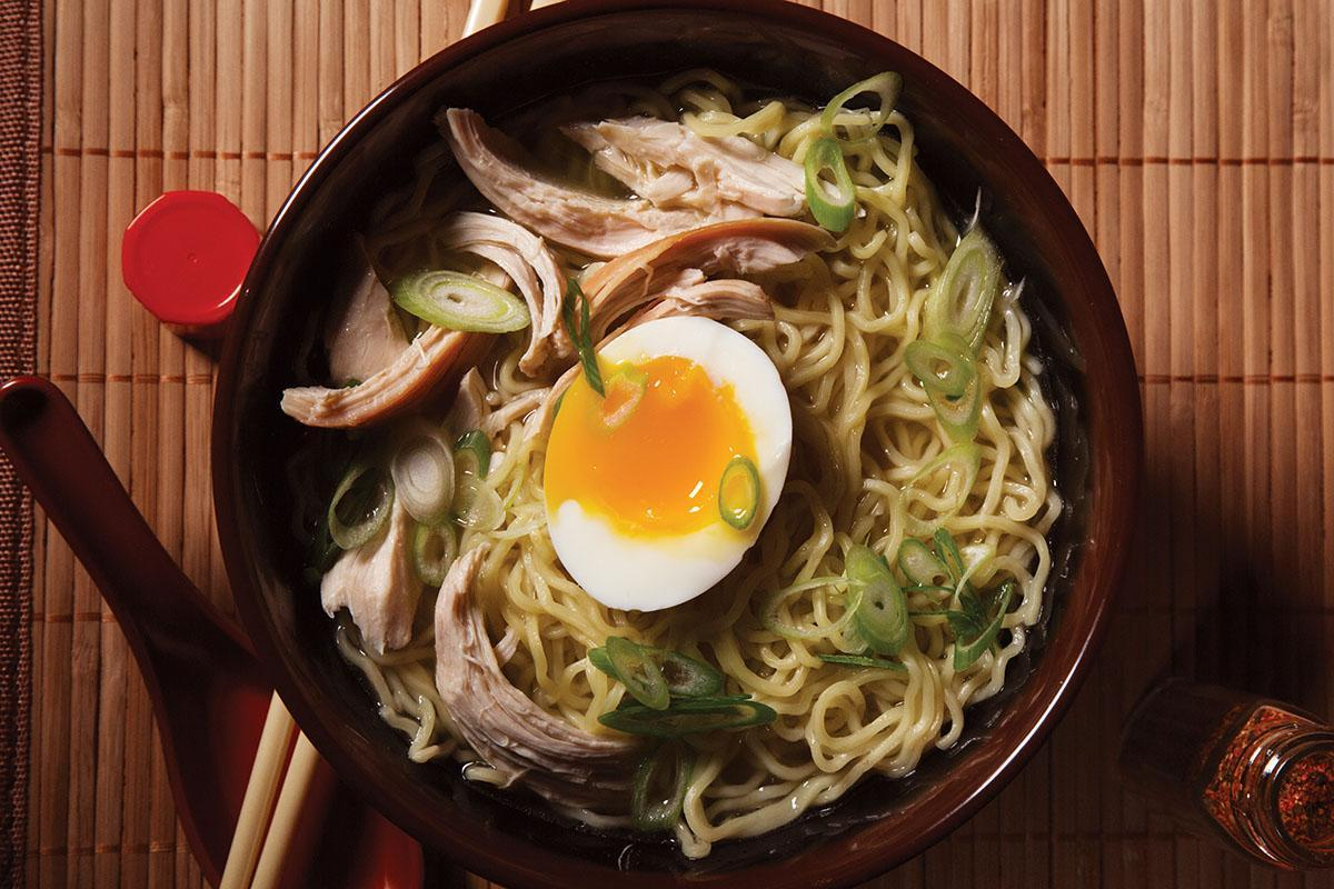 Rotisserie Chicken Ramen from 'Lucky Peach Presents: 101 Easy Asian Recipes'