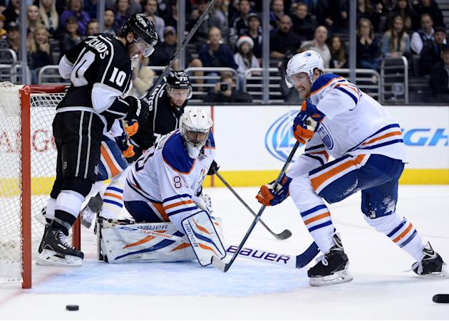 Edmonton Oilers v Los Angeles Kings