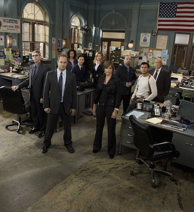"The cast of ""Law & Order: Special Victims Unit"""