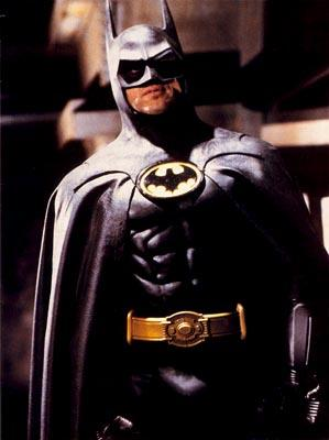 Michael Keaton as Batman in Warner Brothers' Batman