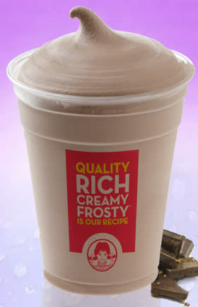 Wendy's Chocolate Frosty