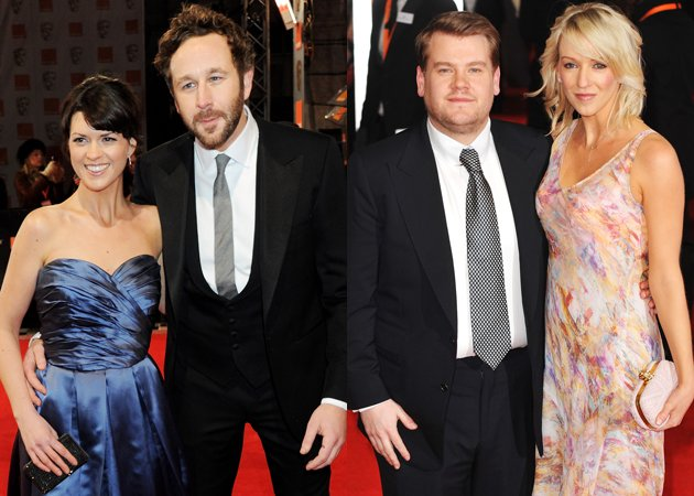 james-corden-dawn-porter-baftas-2012