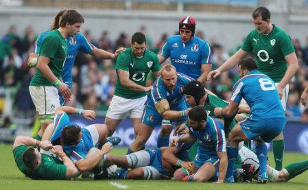 Rugby Union - RBS Six Nations - Ireland v Italy - Aviva Stadium