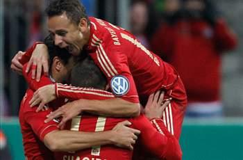 Bayern Munich 4-0 Kaiserslautern: Pizarro and Robben at the double as hosts cruise through