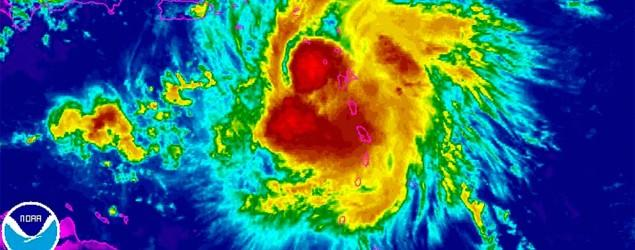 Erika lashes Puerto Rico after killing 4 in Dominica
