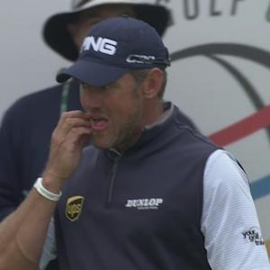 Lee Westwood's clutch chip is the Shot of the Day