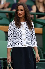 Pippa Middleton hits up Wimbledon in cute Orla Kiely cardigan