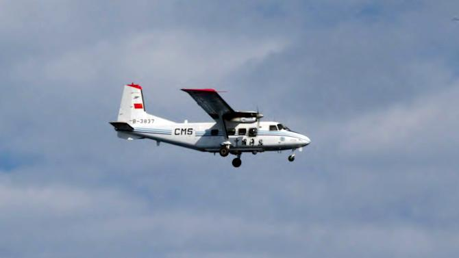 Japan: China plane spotted over disputed islands