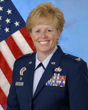 This undated image provided by the U.S. Air Force shows Col. Deborah Liddick. The Air Force chose Liddick Saturday Sept. 15, 2012 to lead its basic training unit at Lackland Air Force Base in San Antonio, Texas where dozens of female recruits have alleged they were sexually assaulted or harassed by male instructors within the past year. (AP Photo/US Air Force)