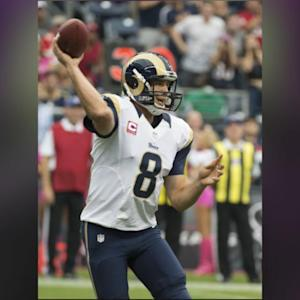Rams QB Sam Bradford Out For Year With Torn ACL