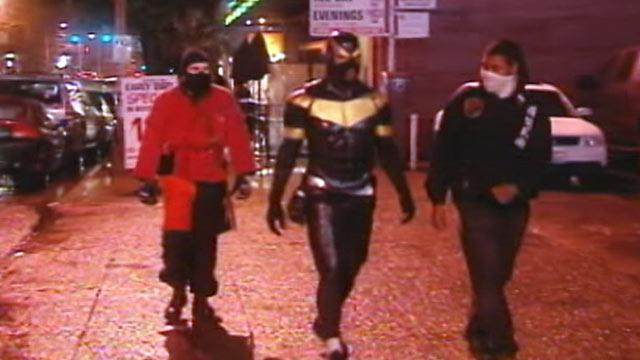 Citizen Superhero 'Phoenix Jones' Arrested in Seattle