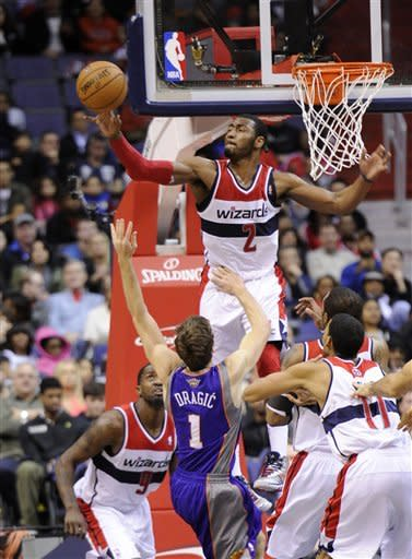Webster scores 34; Wizards beat Suns 127-105