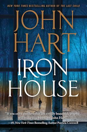 """In this book cover image provided by Thomas Dunne books, """"Iron House,"""" by John Hart, is shown. (AP Photo/Thomas Dunne)"""