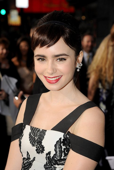 Abduction LA Premiere 2011 Lily Collins