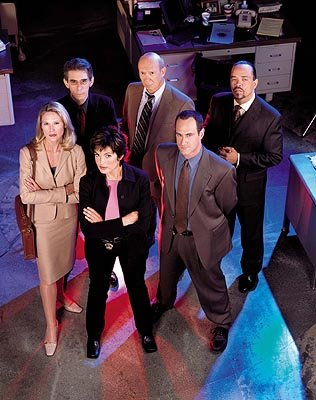 "Stephanie March, Richard Belzer, Mariska Hargitay, Dann Florek, Christopher Meloni and  Ice-T and  NBC's""Law and Order: Special Victims Unit"" Law & Order: Special Victims Unit"