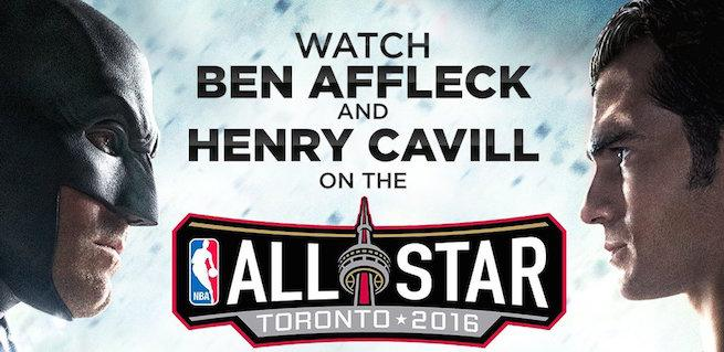 Batman V. Superman's Ben Affleck & Henry Cavill To Appear On NBA All-Star Pre-Game Show