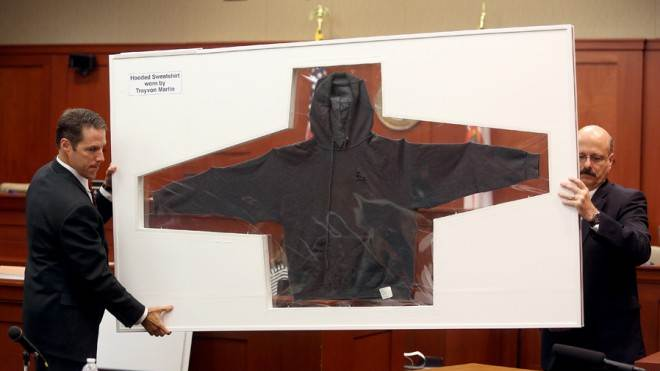 "Hooded sweatshirts are ""worn by a whole lot of thugs,"" writes columnist Richard Cohen."