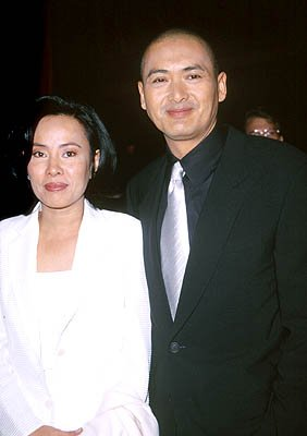 Chow Yun Fat with &quot;gal&quot; at the Hollywood premiere of 20th Century Fox's Anna And The King