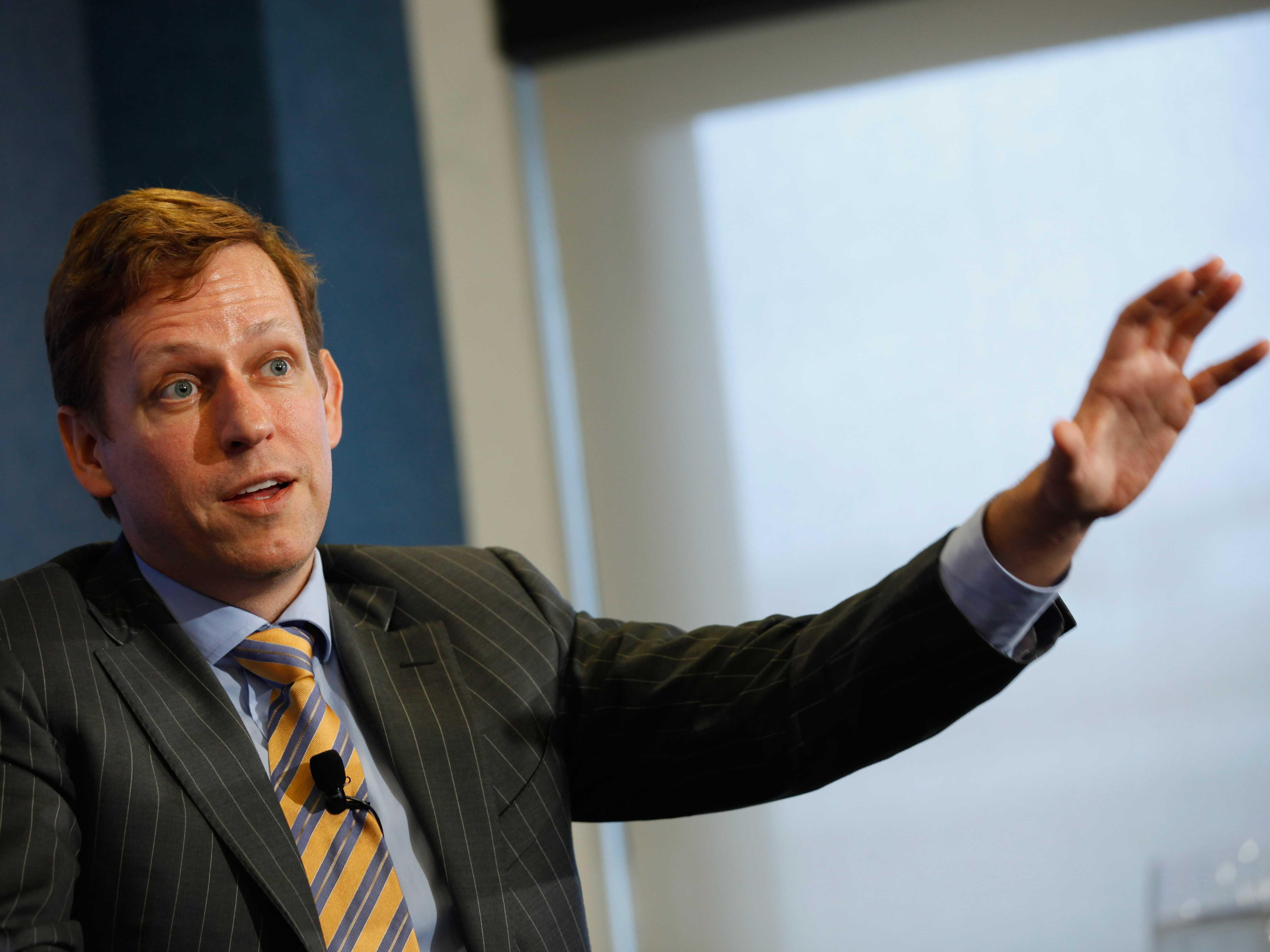 The amazing story of how a complete stranger convinced Peter Thiel to let him invest in PayPal
