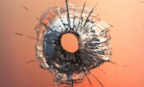 Bullet holes may soon be a thing of the past, thanks to a new revolutionary polymer material that promises to stop 9 mm bullets in their tracks.