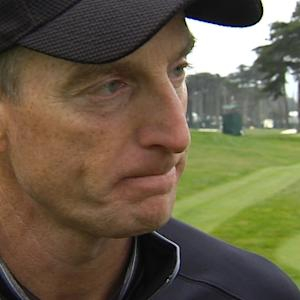 Jim Furyk interview after the Quarterfinals of Cadillac Match Play