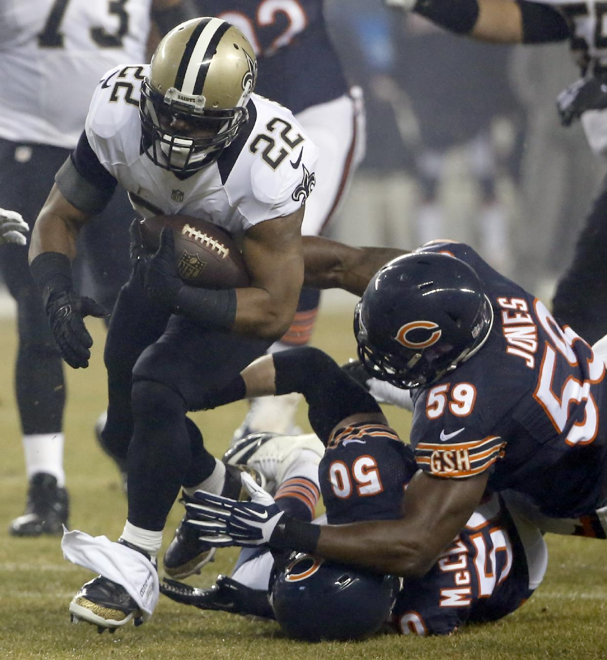 Brees pleased by diversity of Saints' attack