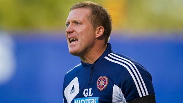 Gary Locke claims the pressure is on Celtic