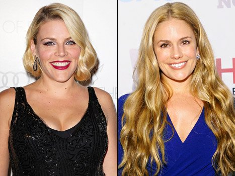 Busy Philipps, CaCee Cobb Bond Over Pregnancies at Oz The Great and Powerful After Party