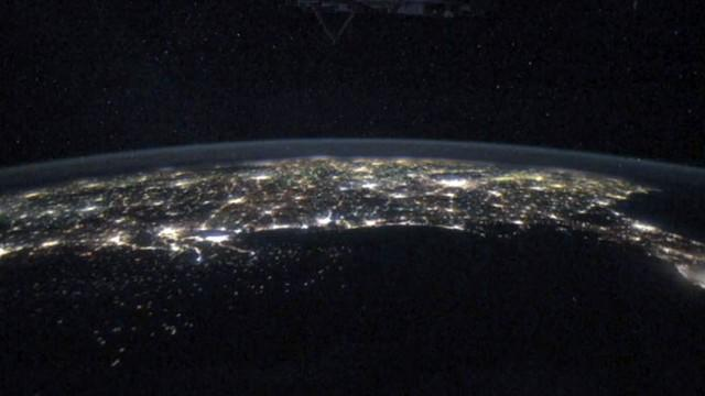 Astronaut's View of the World at Night