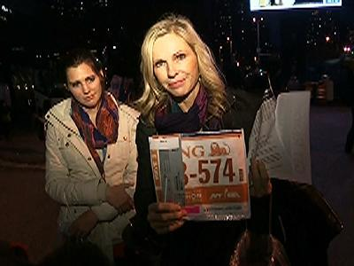 Raw: Canceled NYC race disappoints runners